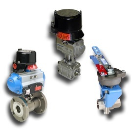 FM & CSA approved Manual Valves & Automated Assemblies